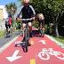 É proibida a circulação de bicicletas na contramão