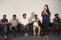 Poojita Super Cute Smile in Blue Top black Trousers at Darsakudu press meet ~ Celebrities Galleries 014.JPG