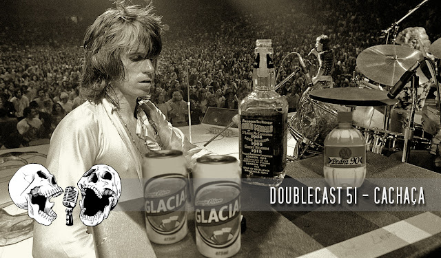 doublecast podcast cachaça rock n' roll