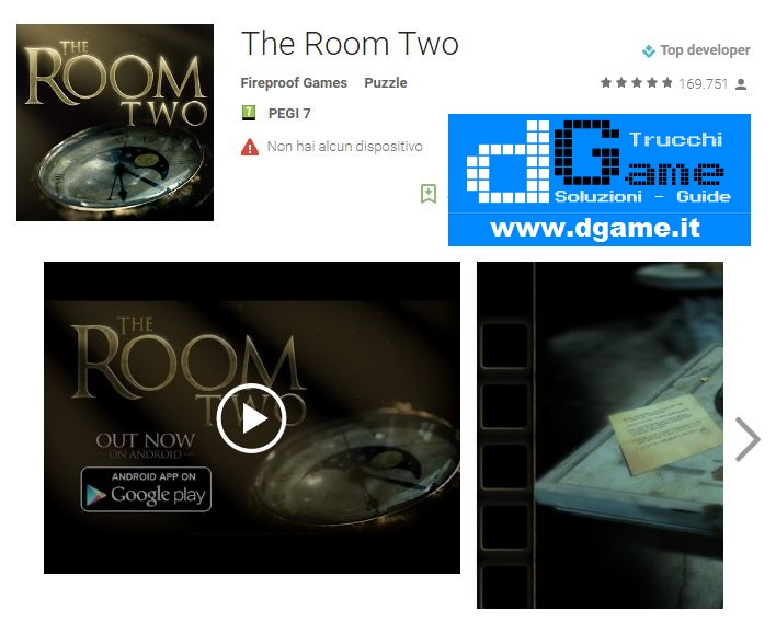 Soluzioni The Room Two di tutti i livelli | Walkthrough guide