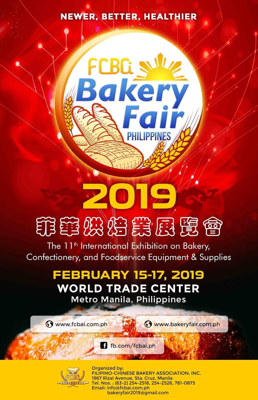 Showbiz Baking Enthusiasts Should Join The Bakery Fair 2019 Trade