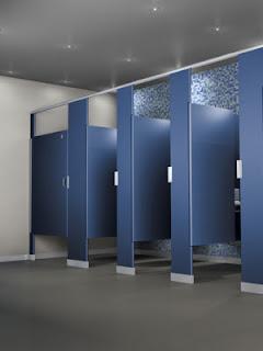 toilet stalls