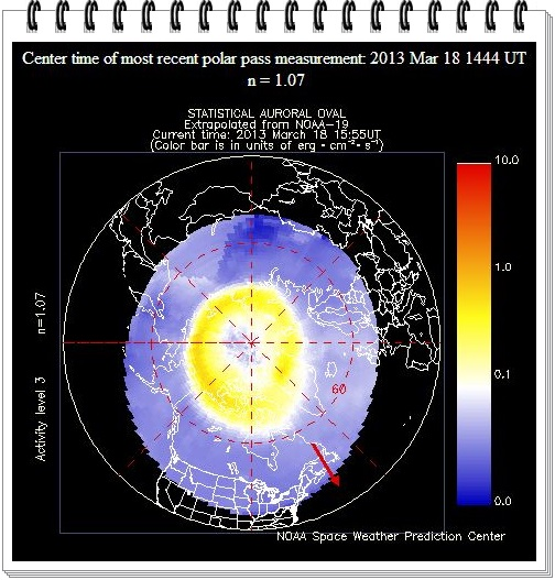 Solar Storm 2013 Chart - Pics about space