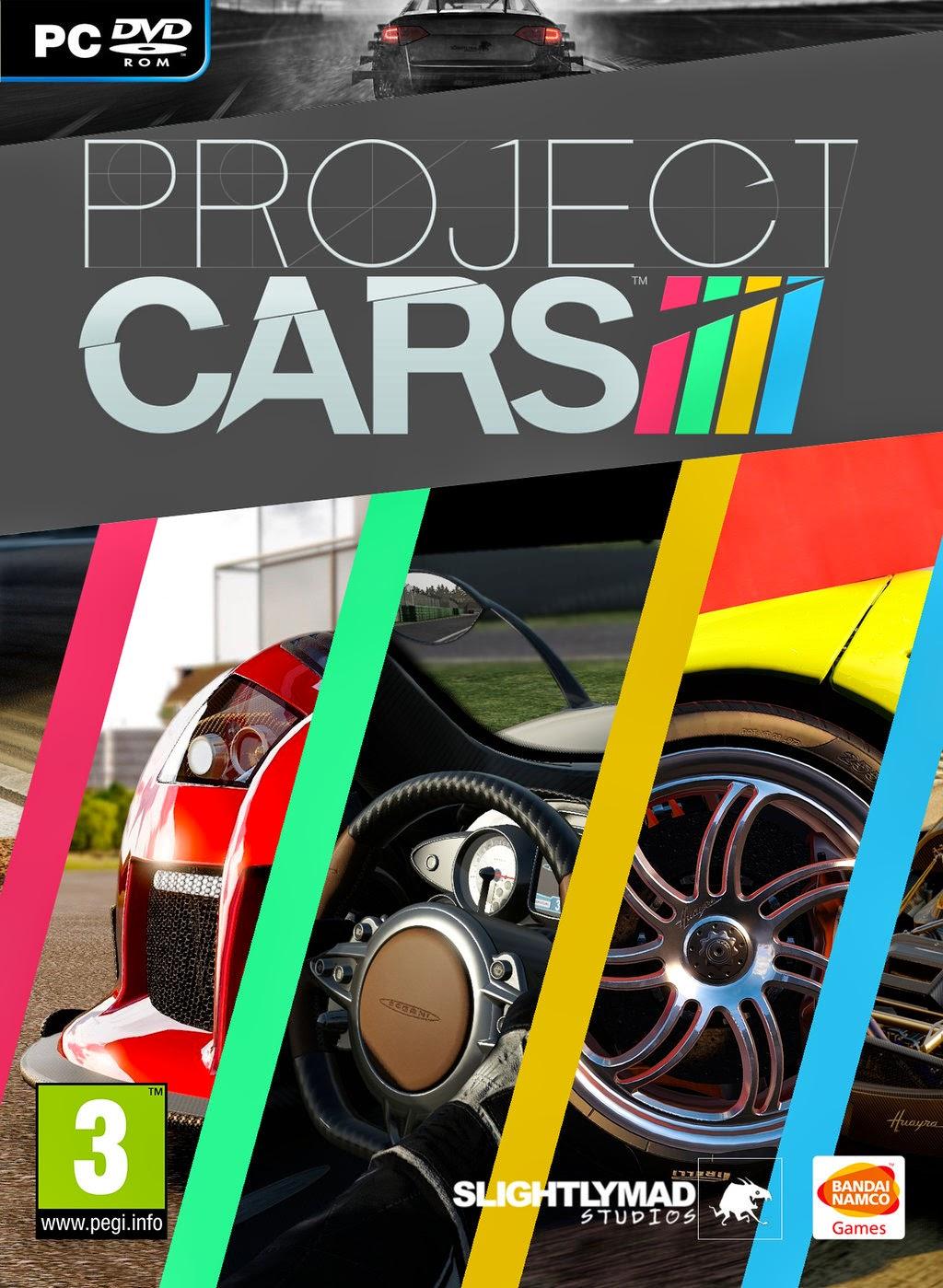 Project CARS ESPAÑOL PC Full Cover Caratula