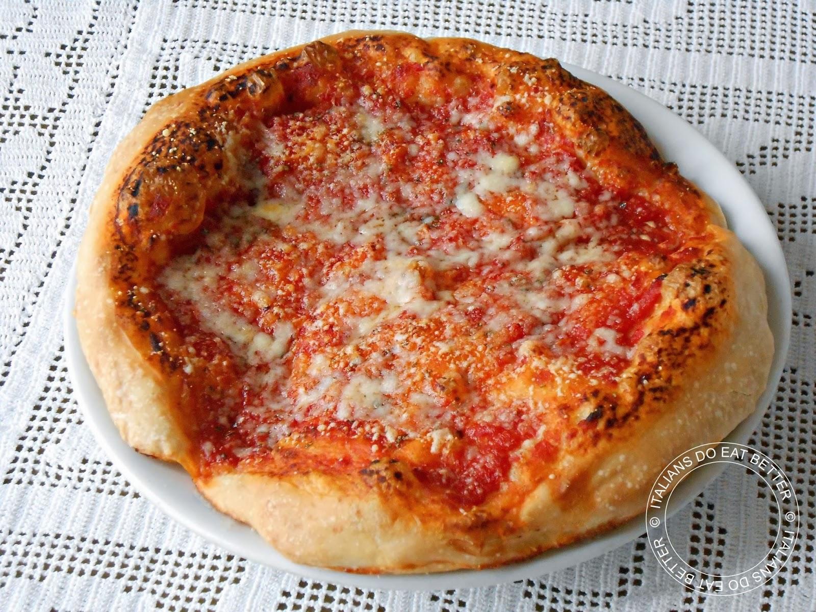 Ricetta pasta per pizza lunga lievitazione