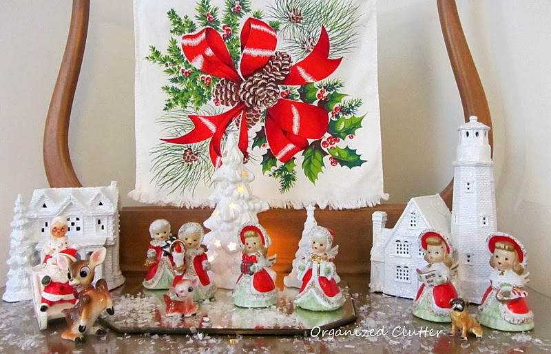 Creating A Vintage Style Christmas And A Linky Party