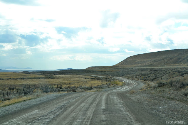 drive to Spiral Jetty