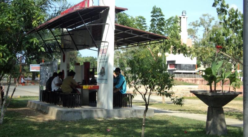Hotspot area Taman Sari Banda Aceh