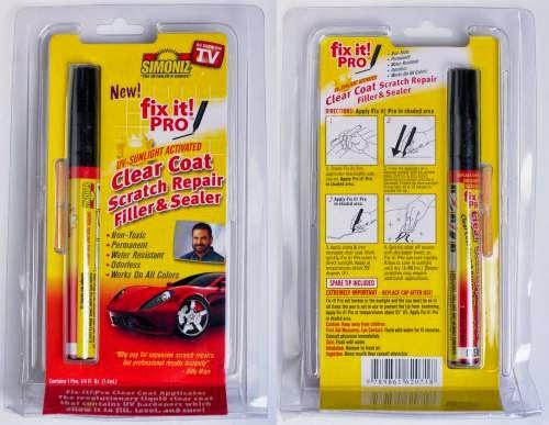 fix it pro menghilangkan baret pada cat mobil