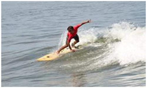 Surfing Wali Kota Cup Surfing Sudah  Diakui KONI Sumbar