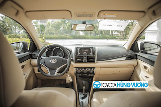 So sánh Toyota Vios với Ford Fiesta 12