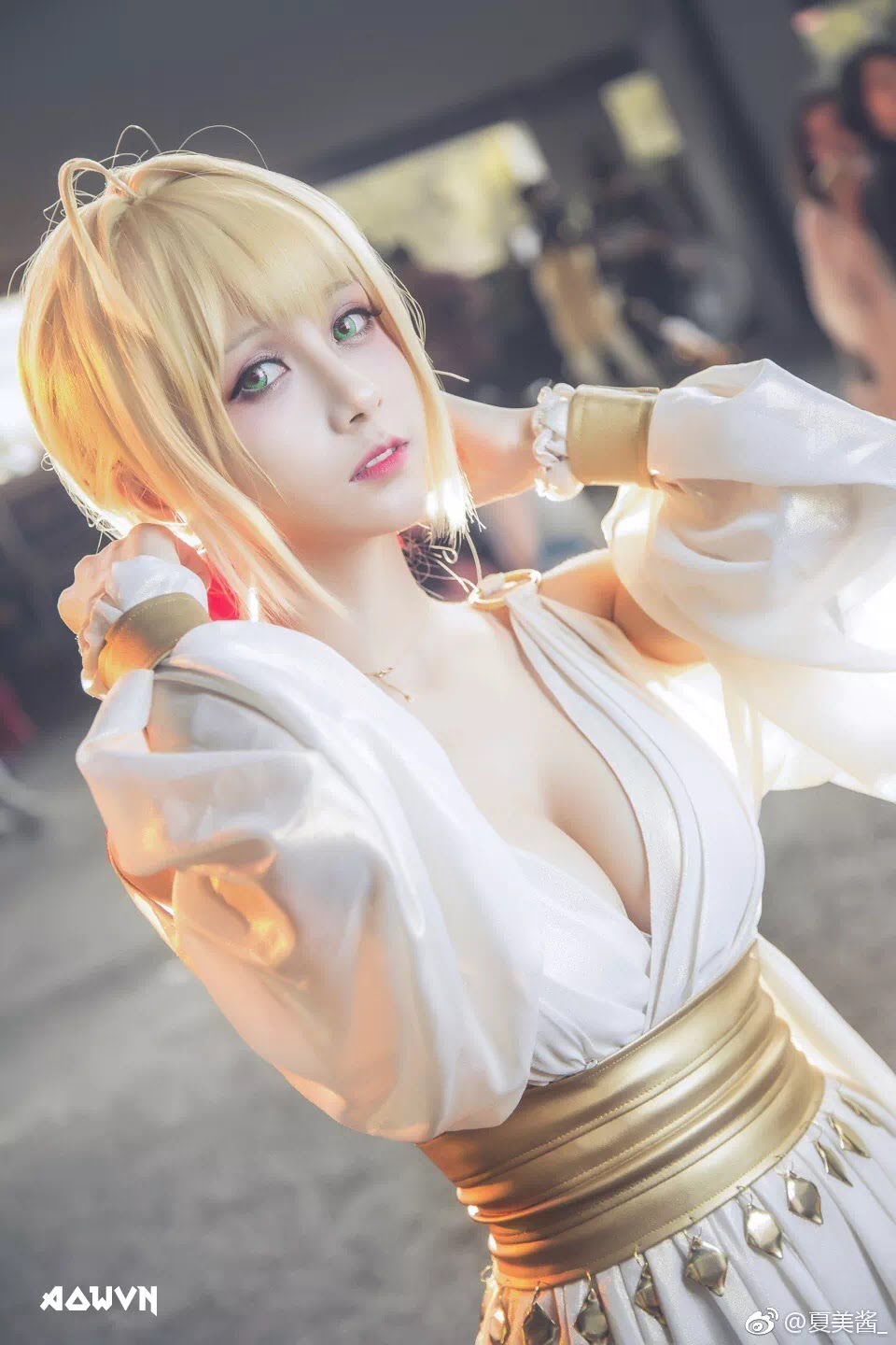 AowVN.org minz%2B%252810%2529 - [ Cosplay ] Nero - Saber anime Fate by Xia Mei Jiang tuyệt đẹp | AowVN Wallpapers