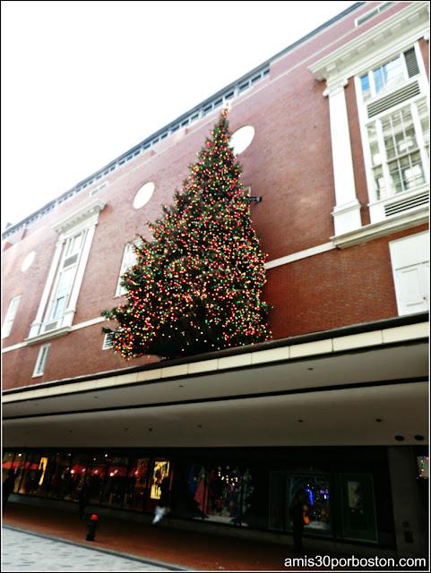Decoraciones de Navidad en Boston