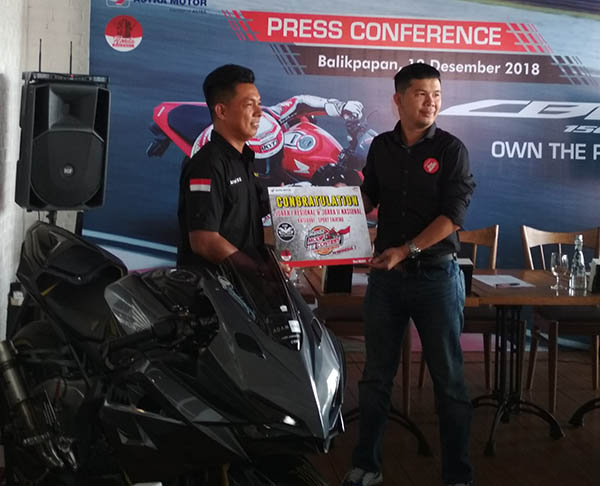 Launching New Honda CBR150R Balikpapan