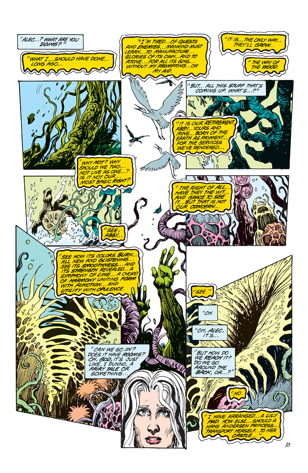 Swamp Thing (1982) Issue #64 #72 - English 19