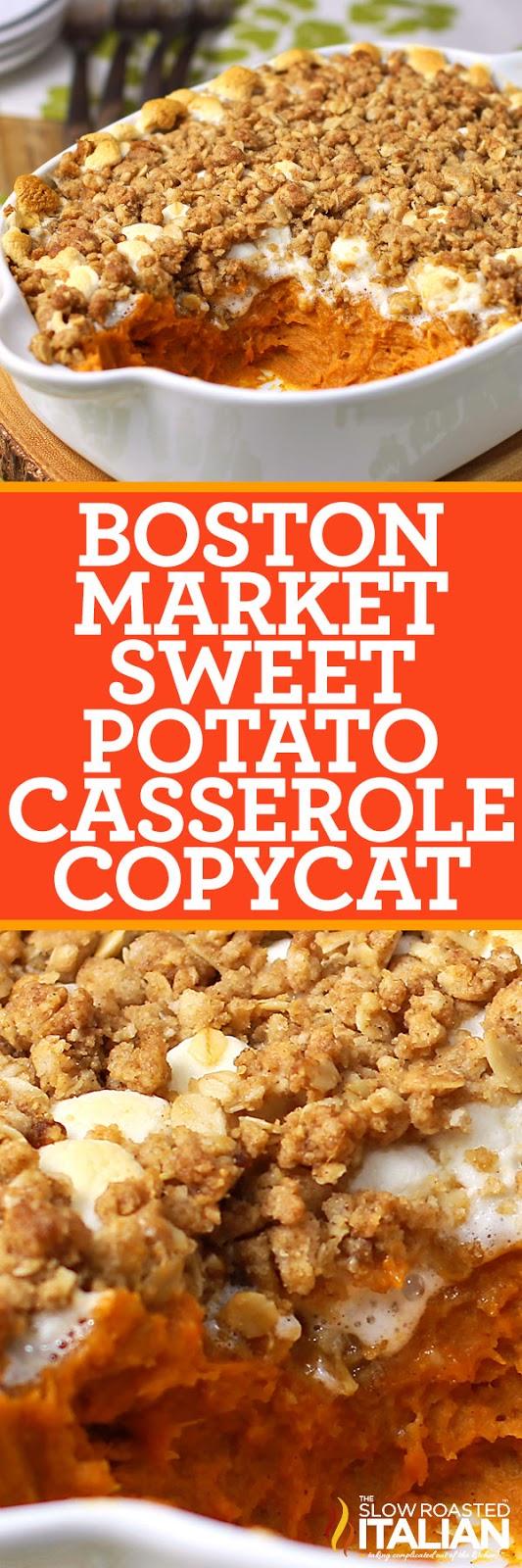 Sweet Potato Casserole Boston Market Copycat With Video