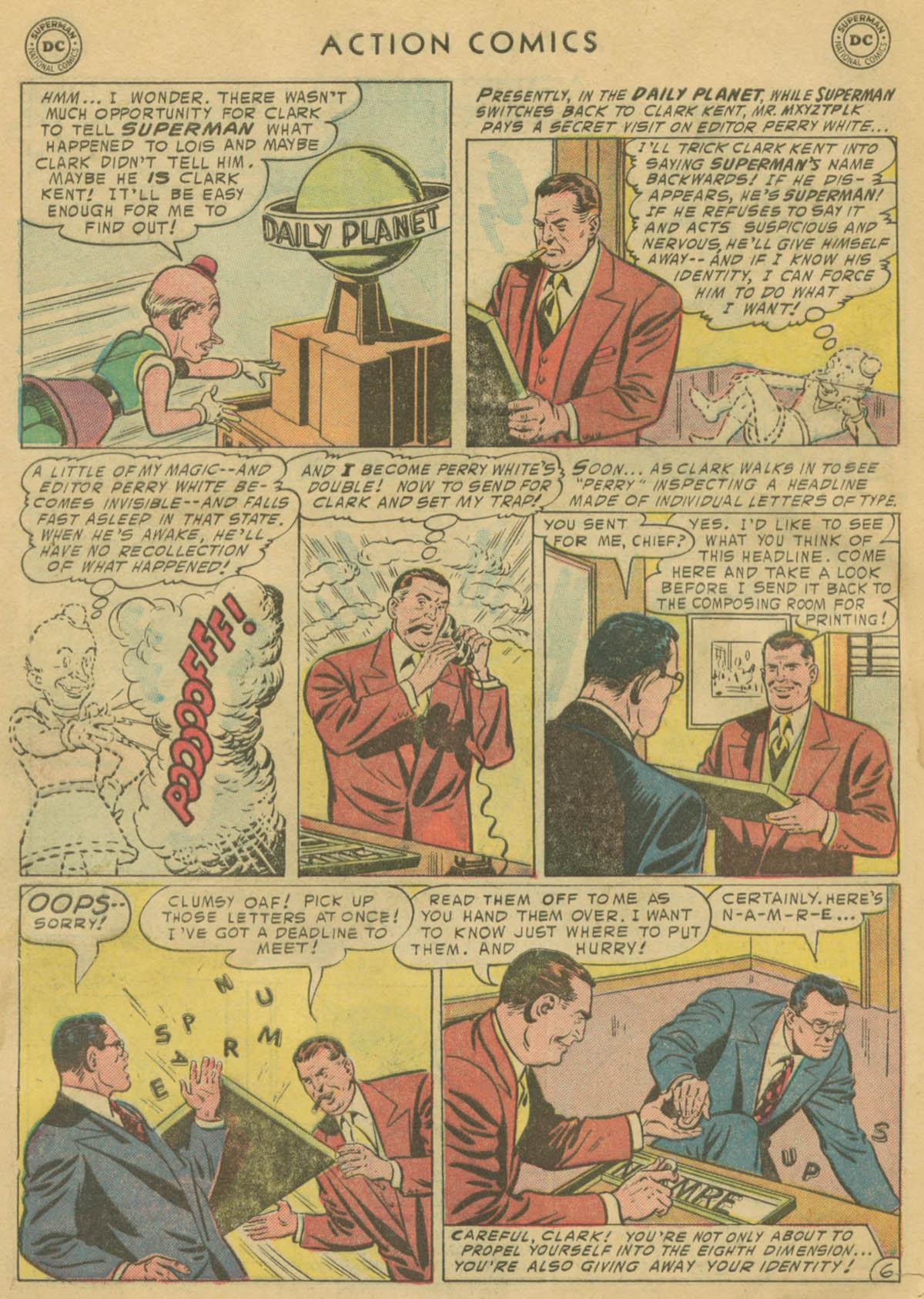 Read online Action Comics (1938) comic -  Issue #208 - 7
