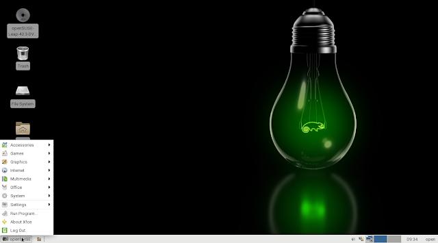 openSUSE XFCE