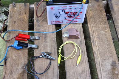 Cagiva Mito 125 starter relay testing , how to test