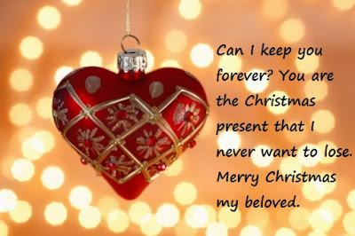 funny christmas message boyfriend