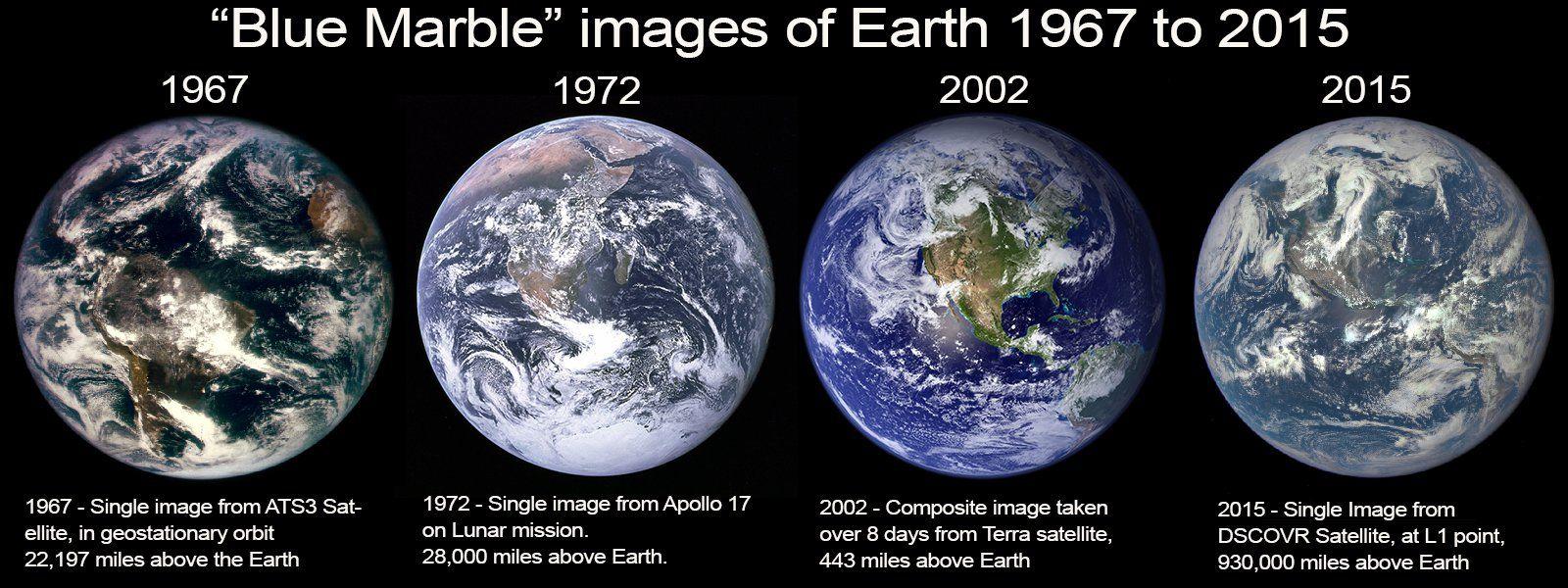 Imagens compostas da NASA