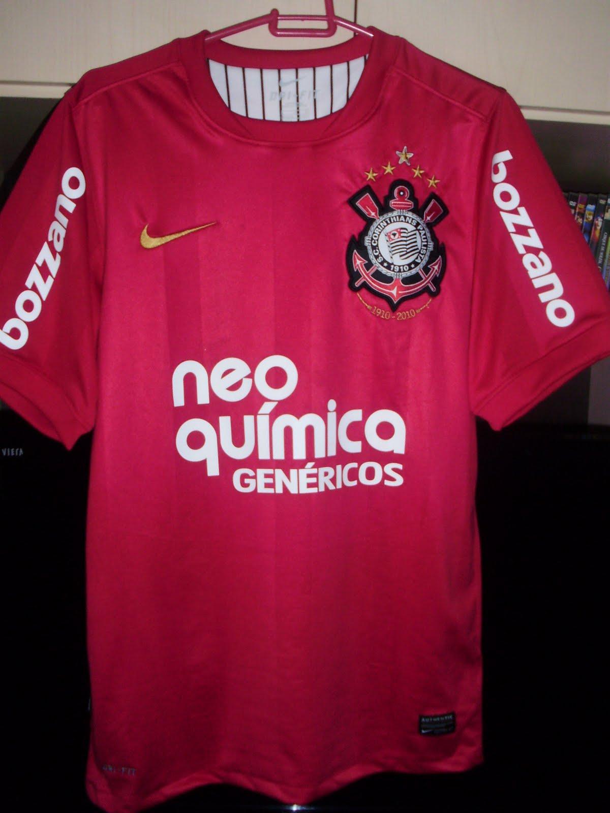 Camisas do Corinthians  Camisa de Goleiro 2010 4ce036a3443da