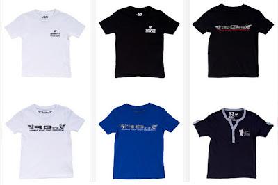 Camiseta blanca o negra para niño
