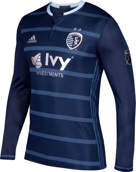 on sale 8e36c b9abb Sporting KC 2017 Primary Jersey Released - Footy Headlines