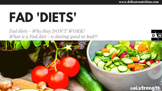 Diets - What is a Fad Diet