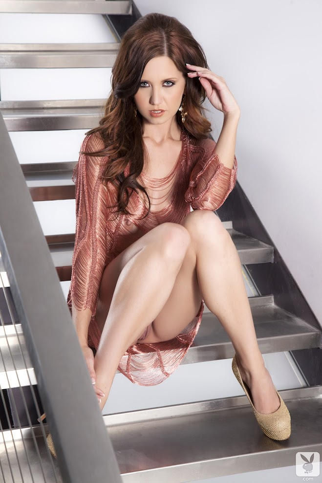 [Playboy Archives] Chrissy Marie - Silky Soft Nude / Stairs To Heaven Nude / Summer Dress Nude - Girlsdelta