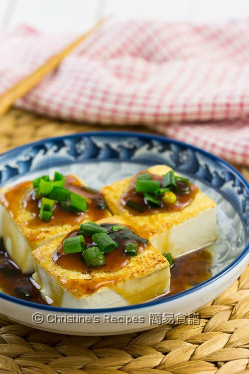 Pan-Fried Tofu in Teriyaki Sauce02