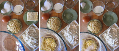 Tarta de pera y manzana (Siempredulces) - Elaboración Paso 1