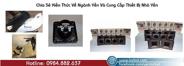 Bảng giá thiết bị nhà yến Lộc Bụt