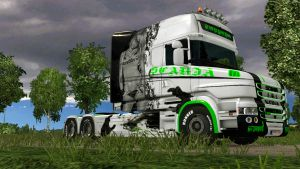 Torpedo Girl skin for Scania T