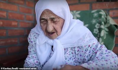 Koku Istambulova wanita dengan umur paling tua