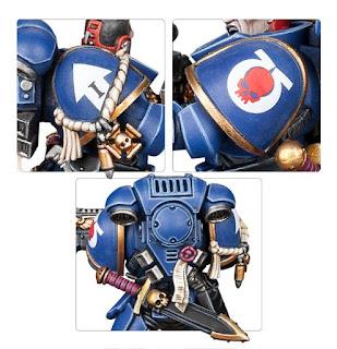 30 años de Warhammer 40,000 - Miniatura : Primaris Intercessor Veteran Sergeant.