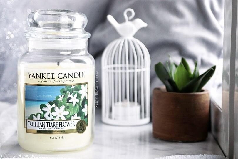 yankee candle tahitian tiare flower świeca zapachowa