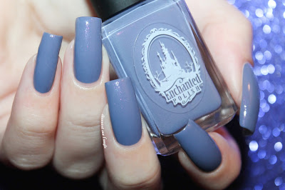 "Swatch of ""Taro Milk Tea"" from Enchanted Polish"