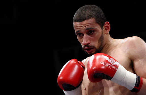A professional boxer might not be the most sensible target for aspiring Twitter tormentors