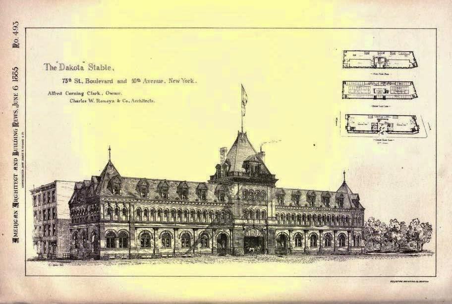 Daytonian in Manhattan: The Lost Dakota Stables - 75th