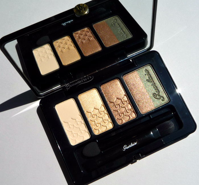 New Guerlain Coque d'Or Eyeshadow Palette: review, photos, swatches