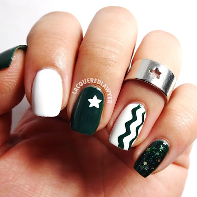 Starbucks Starpower Nail Art