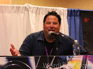 Greg Grunberg at the Star Wars panel during SuperToyCon 2016