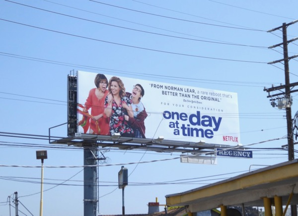 One Day at a Time 2017 Emmy FYC billboard