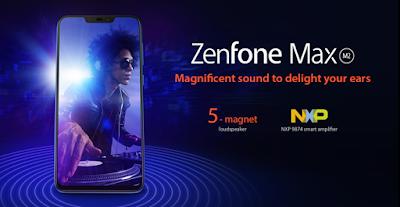 Asus Zenfone Max M2 Speakers