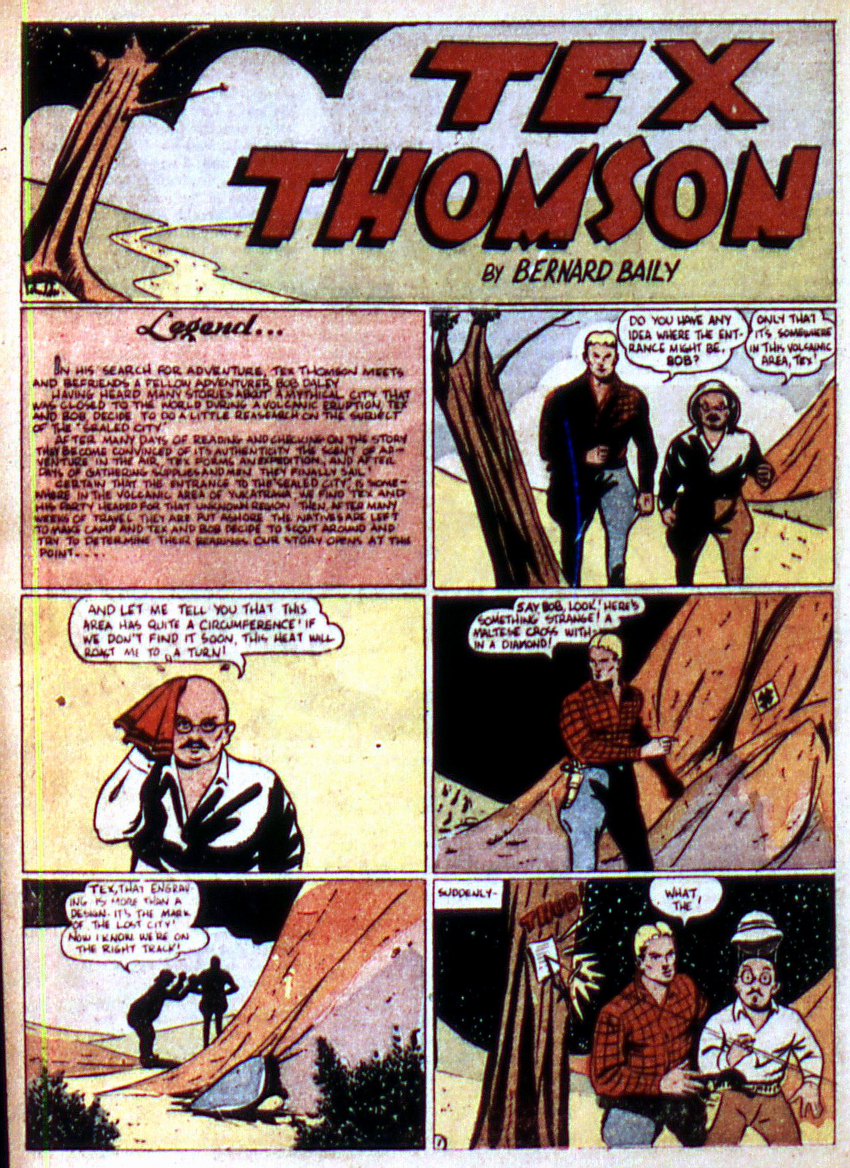 Read online Action Comics (1938) comic -  Issue #2 - 36