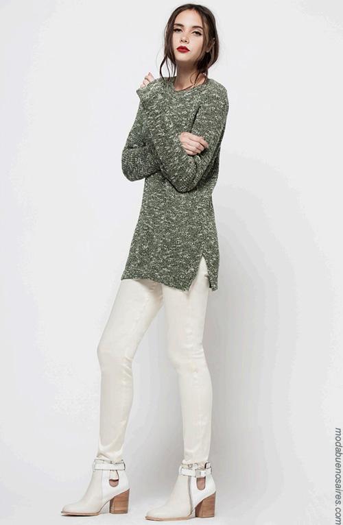 Moda invierno 2017 moda mujer. Ropa de moda 2017.