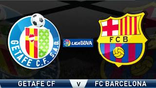 نتيجة مباراة برشلونة وخيتافي اليوم 6-1-2019 في الدوري الاسباني