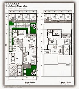 Gambar%2BDesain-Denah-Rumah-Tinggal-dan-Kost-267x300