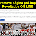 Facebook remove página pró-impeachment Revoltados ON LINE